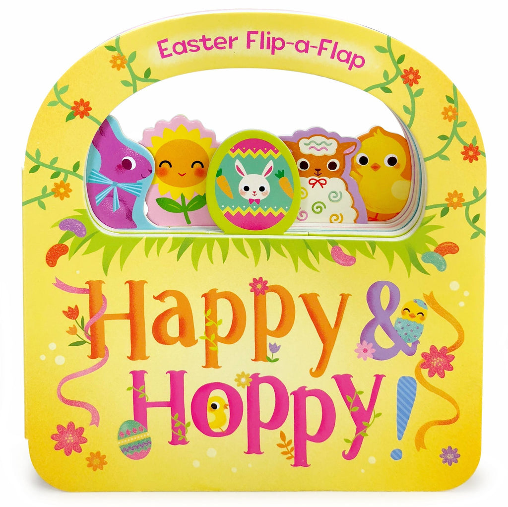 Happy & Hoppy Easter Board Book - The Milk Moustache