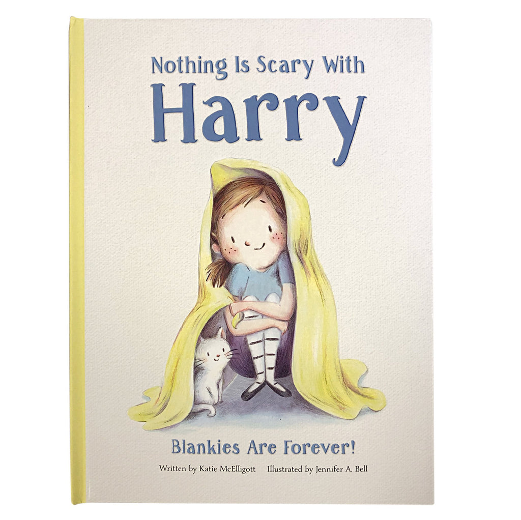 Nothing is Scary with Harry Book - The Milk Moustache