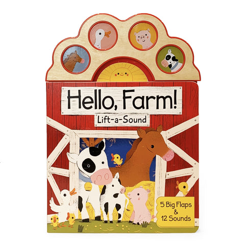 Hello, Farm Sound Book - The Milk Moustache