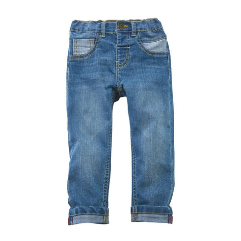 Infant & Toddler Hipster Jeans - The Milk Moustache