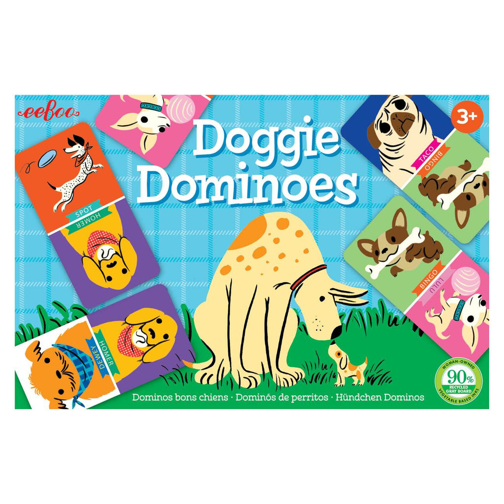 Doggie Dominoes Little Game - The Milk Moustache