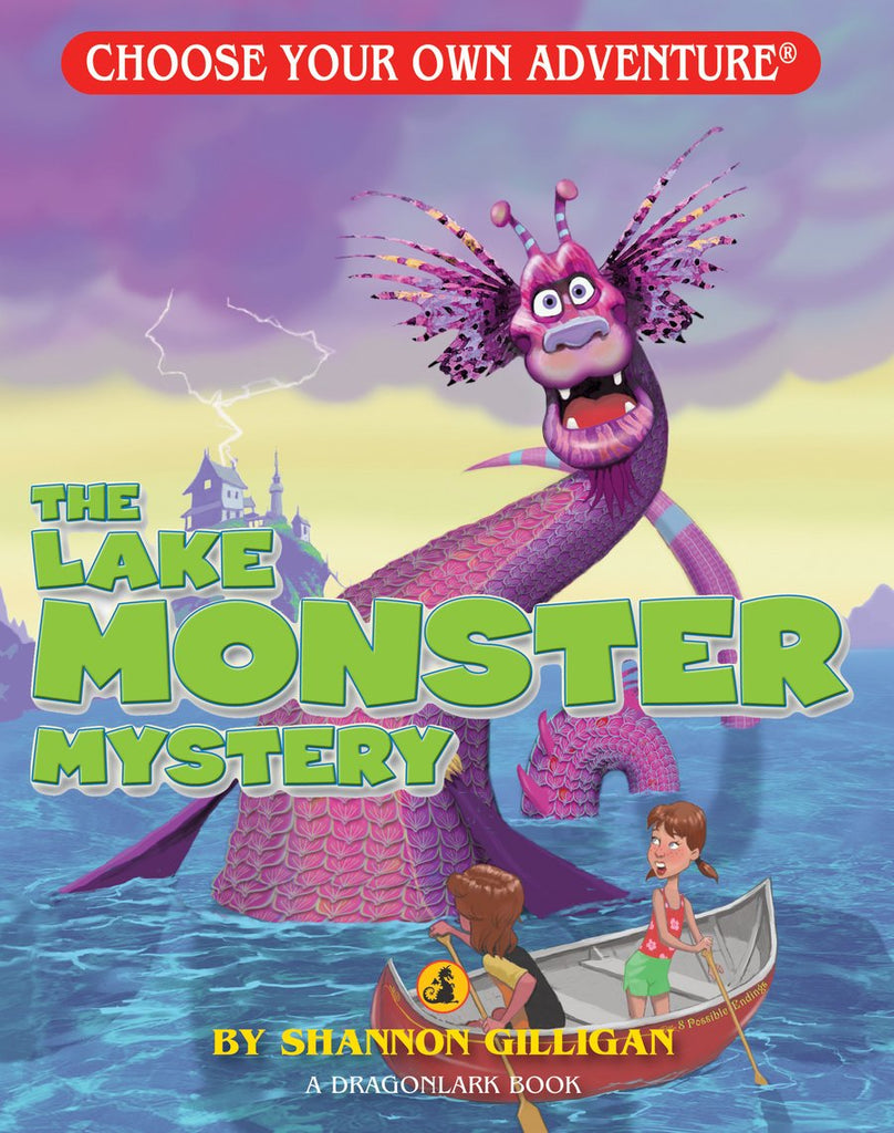 Choose Your Own Adventure : The Lake Monster Mystery Paperback Book - The Milk Moustache