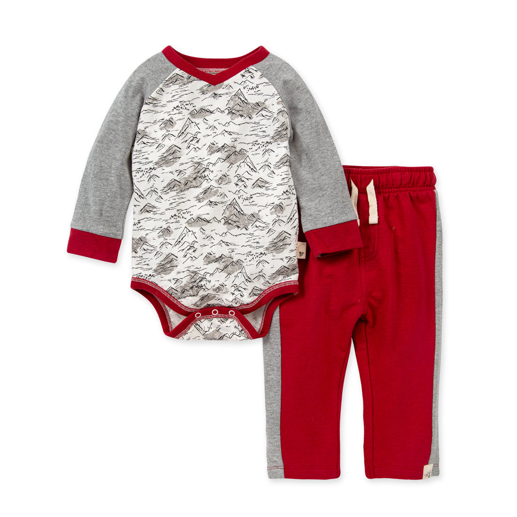 Rocky Mountains Pant Set - The Milk Moustache