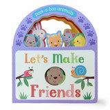 Let's Make Friends Board Book - The Milk Moustache