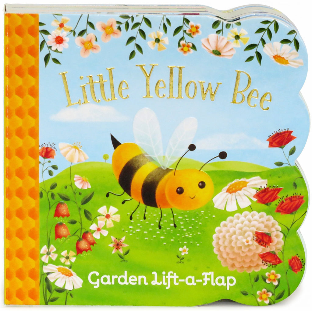 Little Yellow Bee Board Book - The Milk Moustache