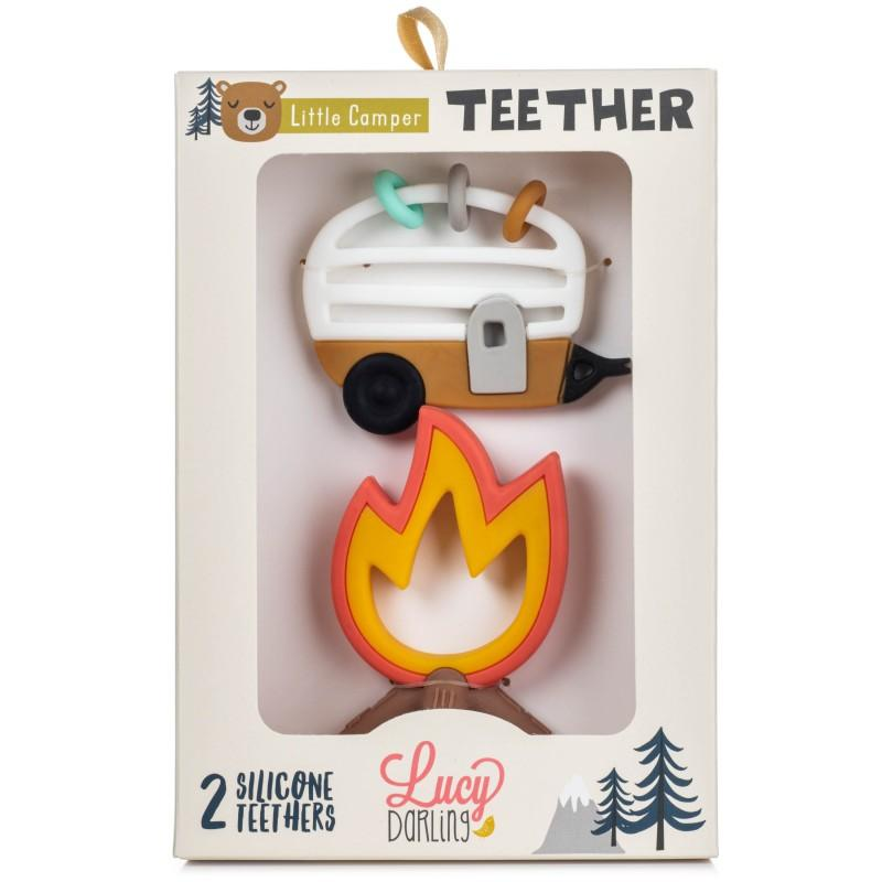 Little Camper Teether Toy 2-Pack - The Milk Moustache