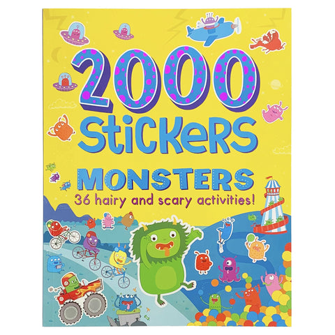2000 Stickers Monsters - The Milk Moustache