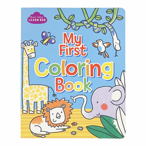 My First Coloring Book - The Milk Moustache