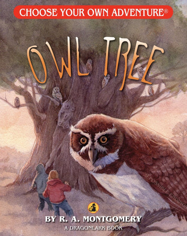 Choose Your Own Adventure : Owl Tree Paperback Book - The Milk Moustache