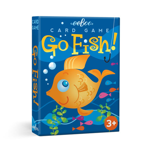 Go Fish Card Game (Shaped Cards)