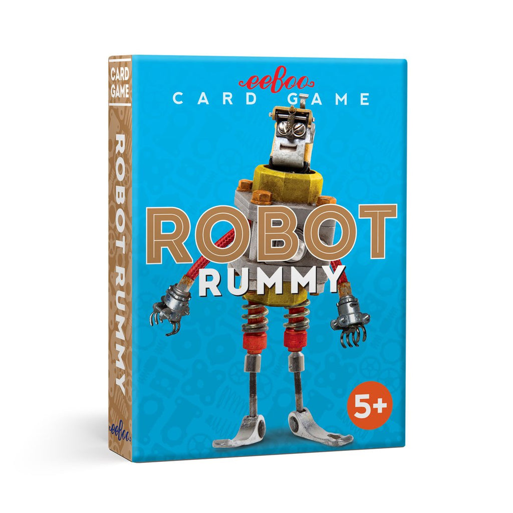 Robot Rummy Card Game - The Milk Moustache