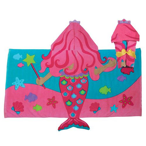 Mermaid Hooded Towel - The Milk Moustache