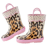 Leopard Boots - The Milk Moustache