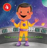 Choose Your Own Adventure : Space and Beyond Board Book - The Milk Moustache