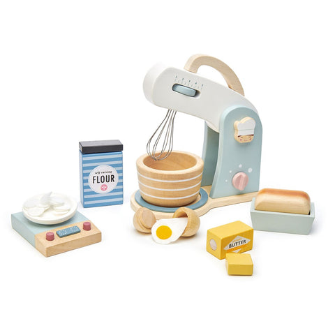 Tender Leaf Toys Wooden Mini Chef Home Baking Set - The Milk Moustache
