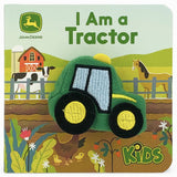 I Am A Tractor Plush Finger Puppet Book - The Milk Moustache