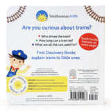 Smithsonian Kids: Trains Then and Now Board Book - The Milk Moustache