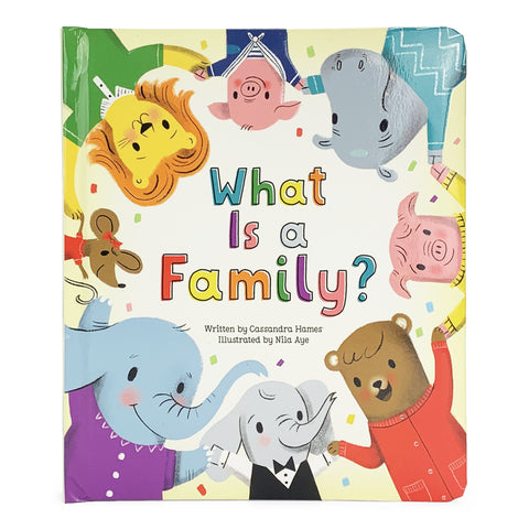 What is a Family? Board Book - The Milk Moustache