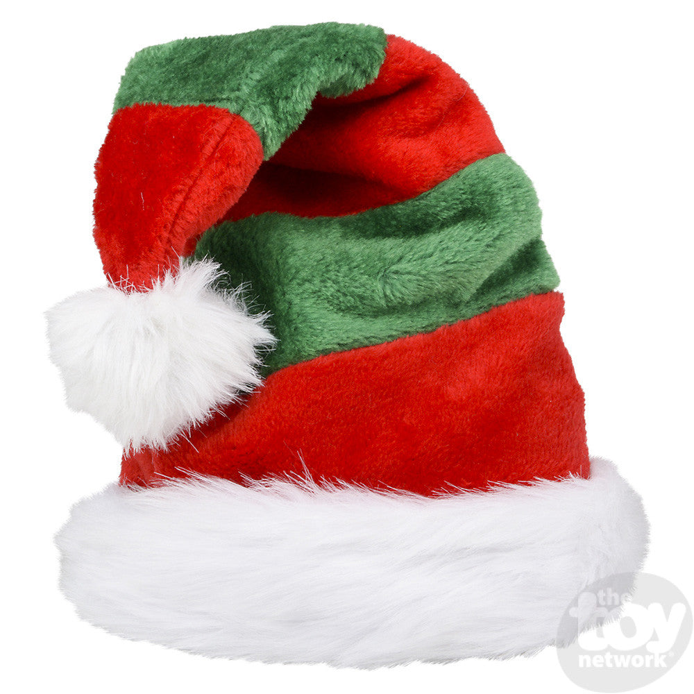 Elf Striped Plush Hat - The Milk Moustache