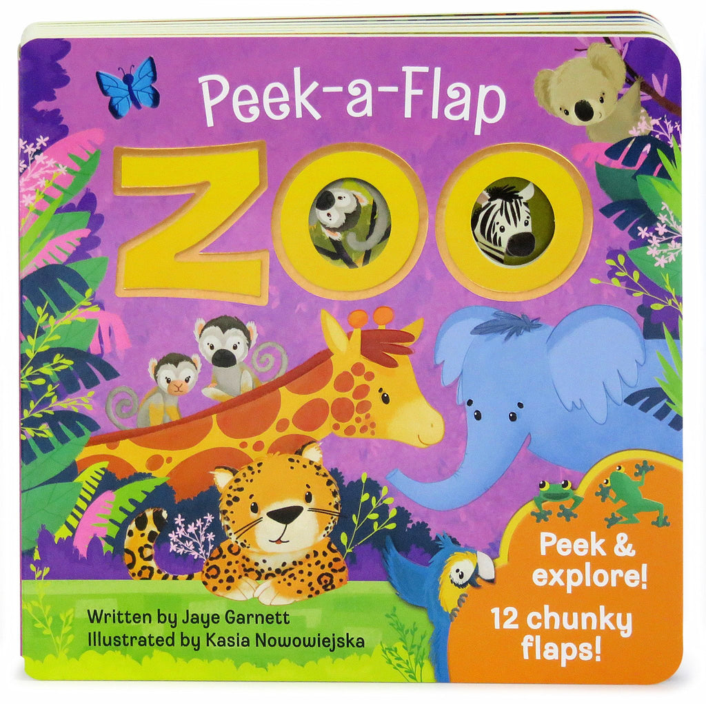 Zoo Peek-A-Flap Board Book