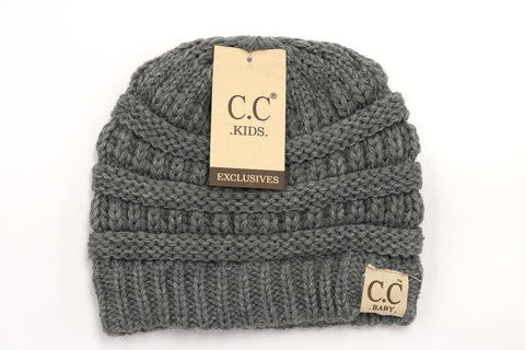 Baby CC Beanie Classy Style - Assorted Colors - The Milk Moustache