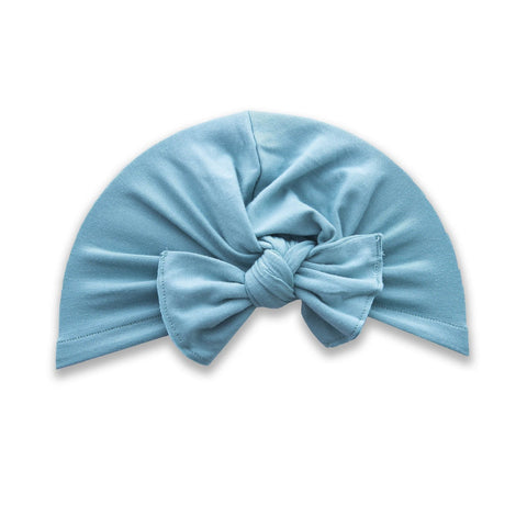 Baby Bling Knot Turban - Assorted Colors - The Milk Moustache