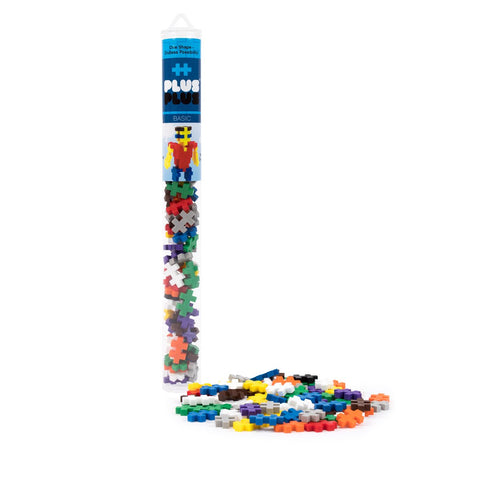 Plus-Plus Construction Toy - 70 Piece Mix Tubes (Pastel & Birthday Mix Available)