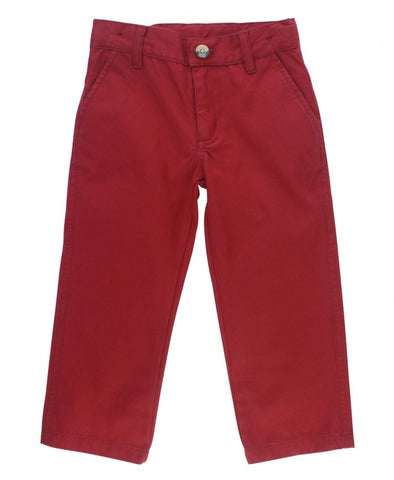 Cranberry Straight Chino Pants - The Milk Moustache