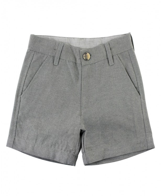 RuggedButts Heather Gray Shorts - The Milk Moustache