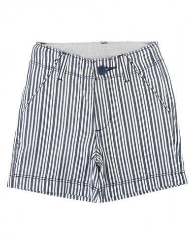RuggedButts Navy Stripe Shorts - The Milk Moustache