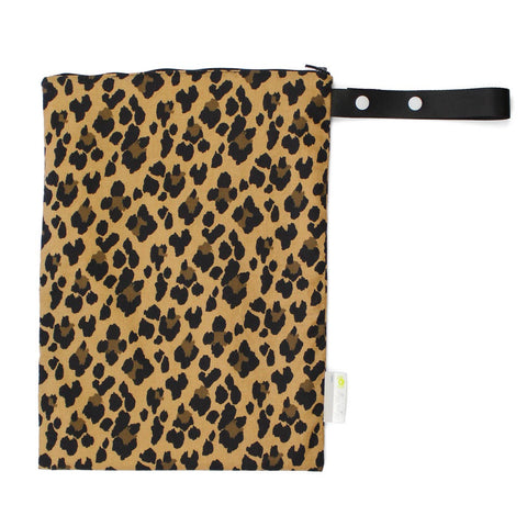 Itzy Ritzy - Leopard Medium Wet Bag - The Milk Moustache