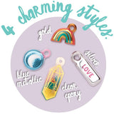 Craft-tastic DIY Puffy Charming Charms - The Milk Moustache
