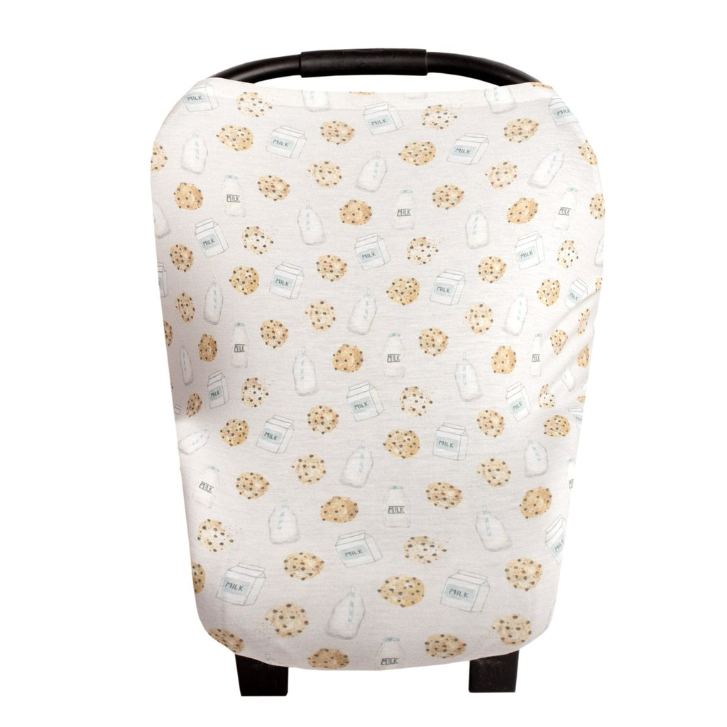 Copper Pearl Multi-Use Carseat & Nursing Cover - Chip - The Milk Moustache