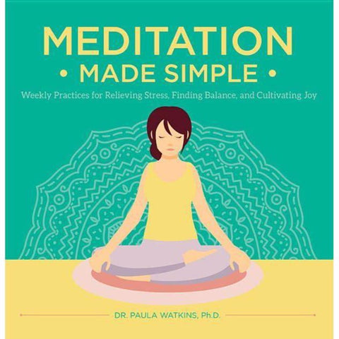 Meditation Made Simple Book - The Milk Moustache
