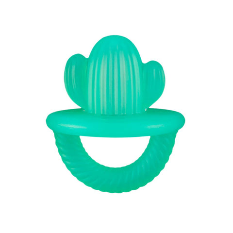 Itzy Ritzy - Teensy Teether Soothing Silicone Teether - Cactus