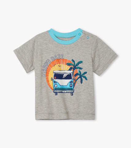 Hatley Summer Vacation Baby & Toddler Tee - The Milk Moustache
