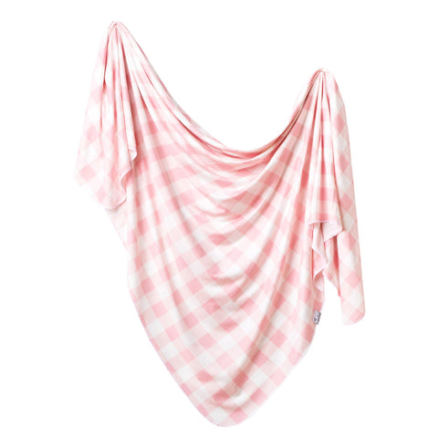 Copper Pearl Knit Swaddle Blanket - London - The Milk Moustache