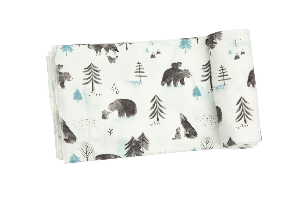 Angel Dear Swaddle Blanket - Mama and Cubs - The Milk Moustache