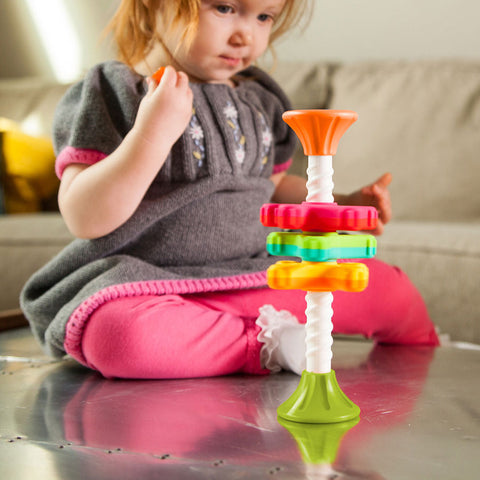 MiniSpinny Infant Sensory Toy - The Milk Moustache