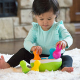 Spinny Pins Infant Sensory Toy - The Milk Moustache