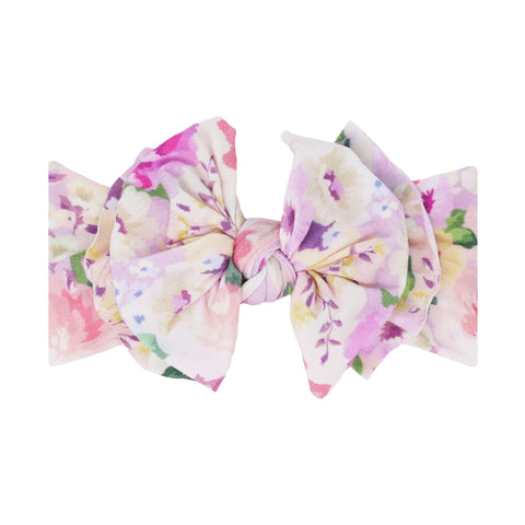 SPRING 2021 Baby Bling Printed Fab-Bow-Lous Headbands - Assorted Styles - The Milk Moustache