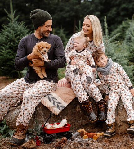 EARLYBIRD SAVINGS PRE-ORDER *Reindeer* Family Jammies - Newborn through Men's XXL - The Milk Moustache