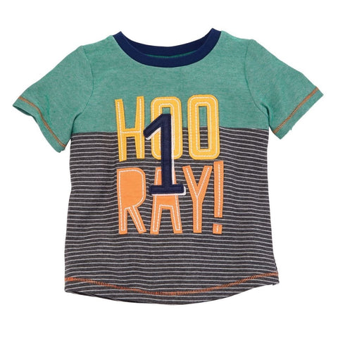Hooray First Birthday Shirt
