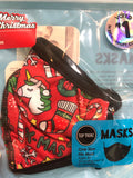 Top Trends Christmas Face Masks - Two Sizes - 3 Colors - The Milk Moustache