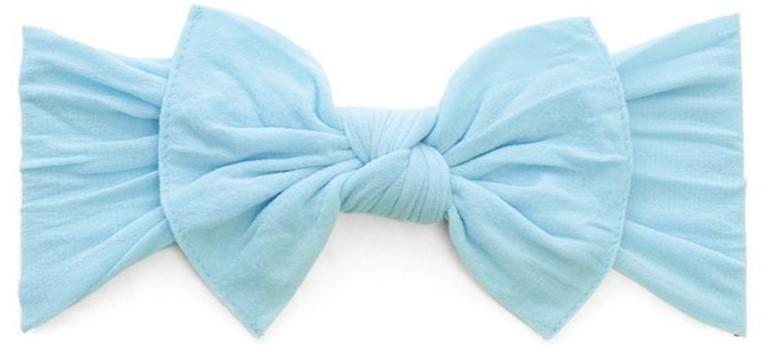 Baby Bling Itty Bitty Knot Bow Headband - Assorted Colors - The Milk Moustache