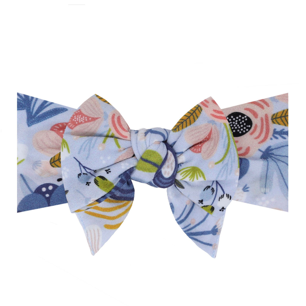 SPRING 2021 Baby Bling Printed Dang Enormous Bow Headbands - Assorted Styles - The Milk Moustache