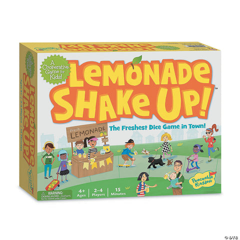 Lemonade Shake Up! Board Game - The Milk Moustache