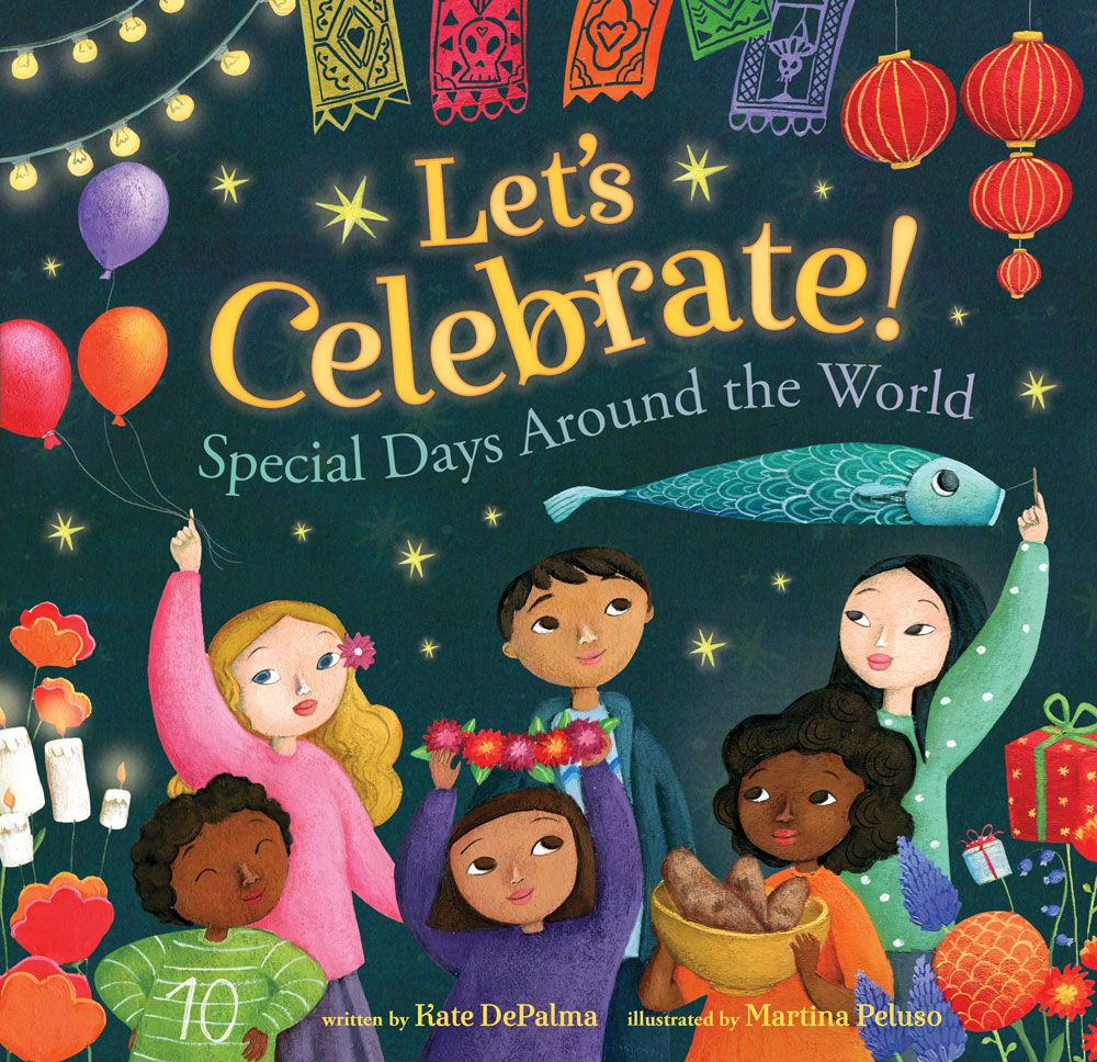 Let's Celebrate! Special Days Around the World Hardcover Book - The Milk Moustache
