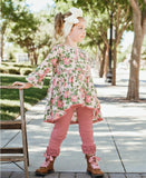 Blushing Posies High-Low Top
