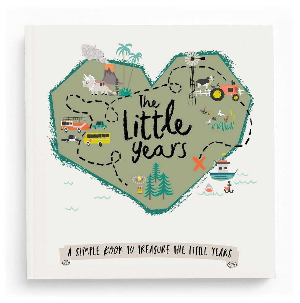 Lucy Darling The Little Years Toddler Memory Book - Boy - The Milk Moustache
